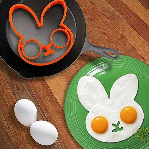 Rabbit Shape Egg - Mold Made of Silicone