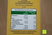 Nährwerte: Grünland Bio Orangensaft, 8er Pack (8 x 1 l)