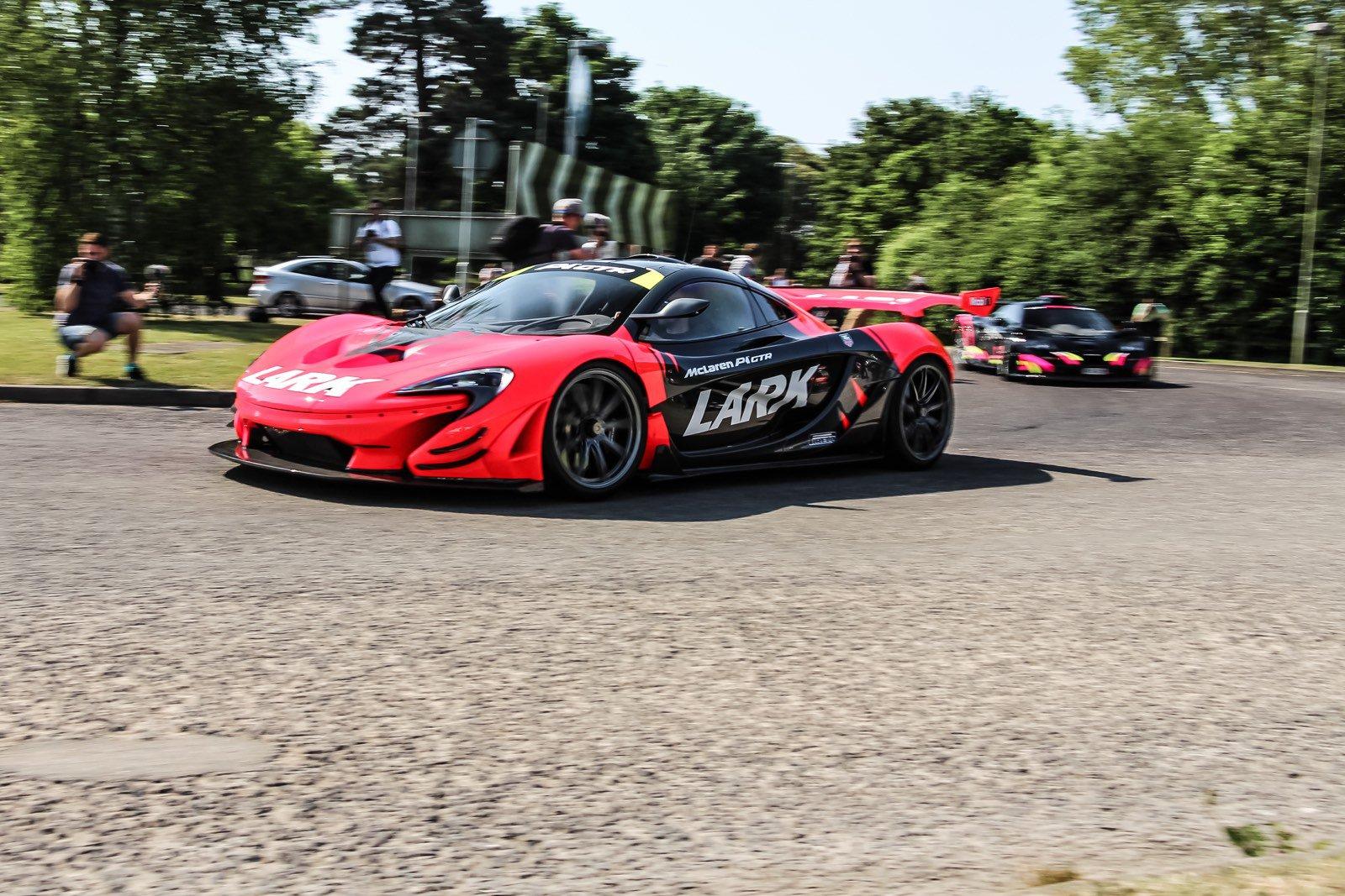 McLaren P1 GTR thực sự là ngôi sao nổi bật trong sự kiện năm nay