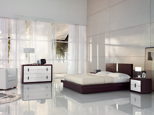 Decoraci n de dormitorios modernos y elegantes for Modelos de dormitorios modernos