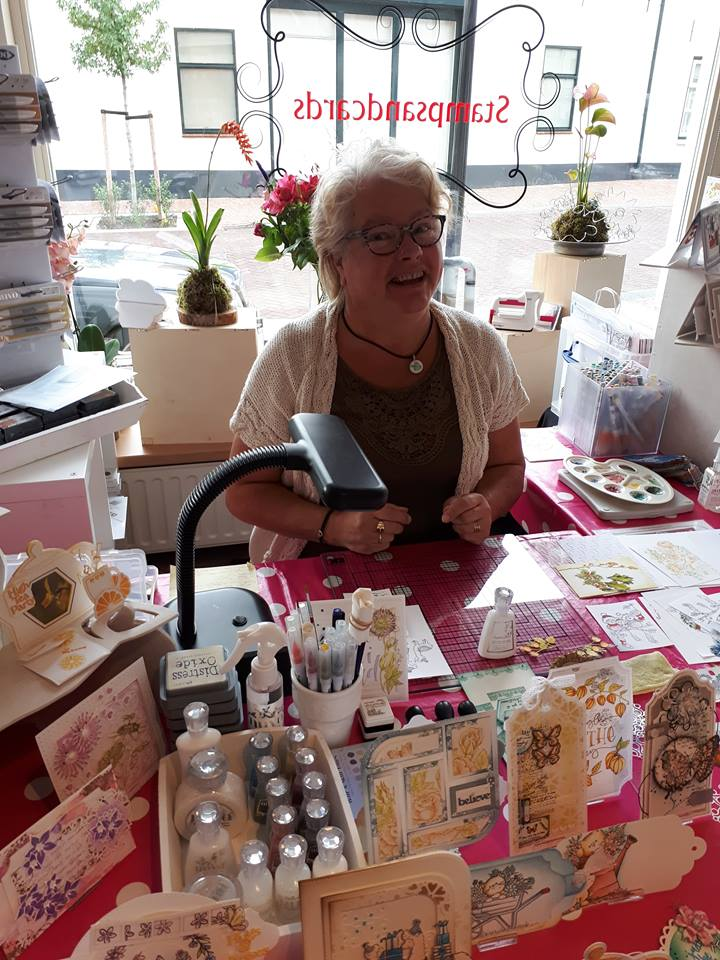 Workshop & Demonstraties bij Stamps and Cards te Waddinxveen