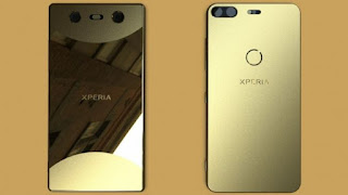 This may be our first look at the reworked Sony Xperia phone design
