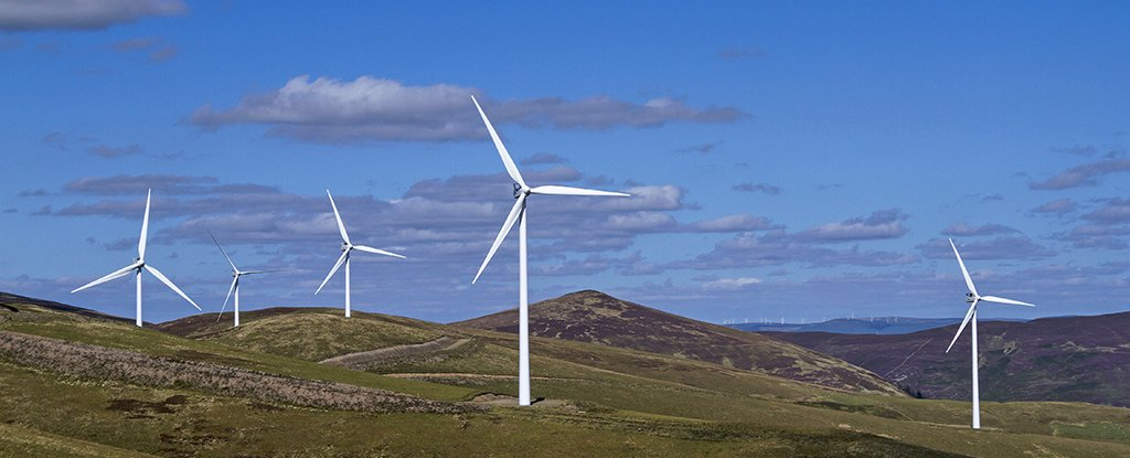 Scotland Is Generating So Much Wind Energy That It Could Power A Land Twice Its Size