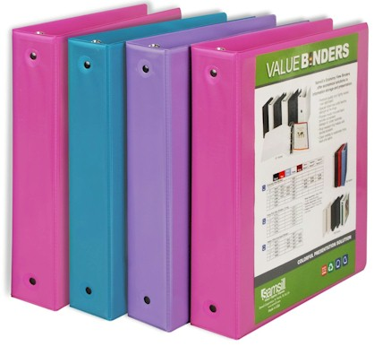 daily cheapskate lowest price 4 pack of samsill 1 5 binders for
