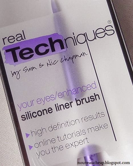 how to clean real techniques silicone liner brush