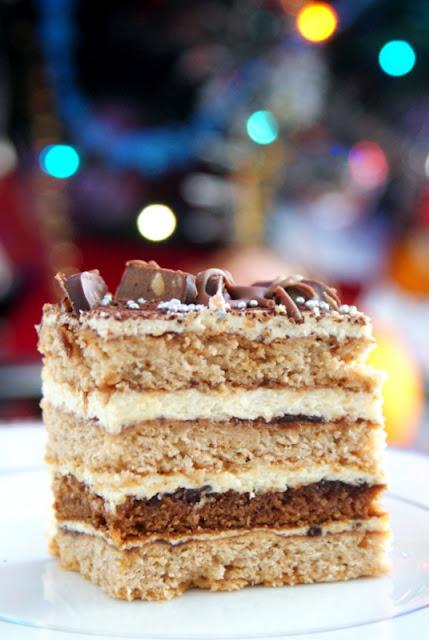 piernik czeski najlepszy,piernik,wypieki świąteczne,pierniki,masa grysikowa,toblerone,