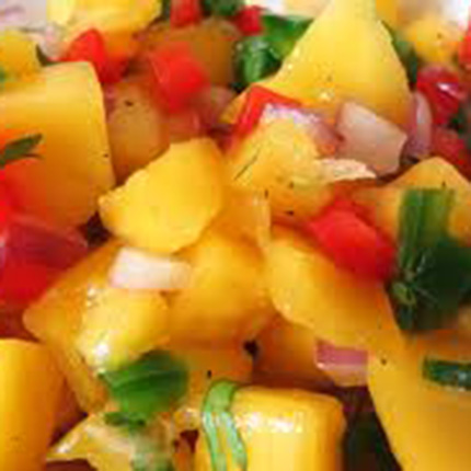 Fresh and Healthy Mango Salsa