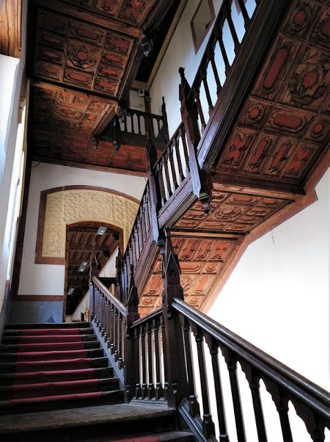 Castillo de Belmonte, escalera