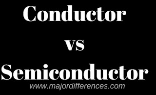 Conductor vs Semi Conductor