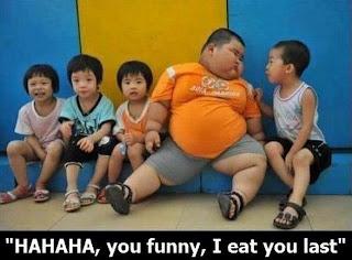 Imagen chistosa con niños