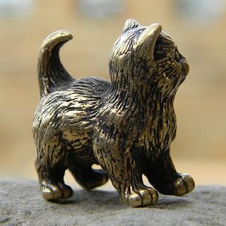 кошечки статуэтки купить коллекционные фигурки статуэтки животных из бронзы