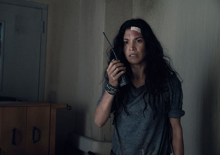 Luciana, en el episodio 4x14 MM 54 de Fear The Walking Dead