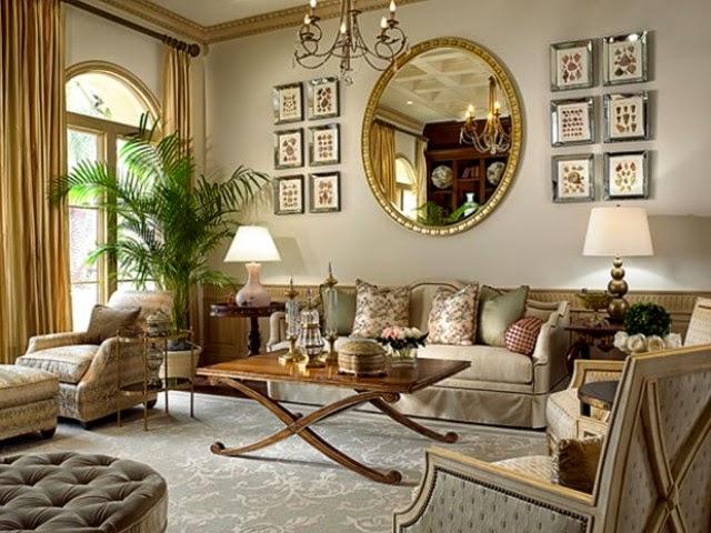 60 Desain Ruang Tamu Klasik Sumber Desainrumahmini