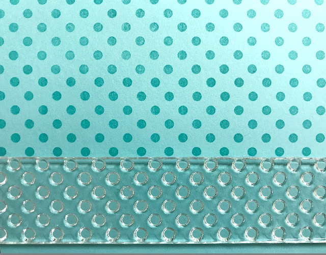 Sunny Studio Stamps: Background Basics Polka-dot Guide secrets to lining up perfectly every time