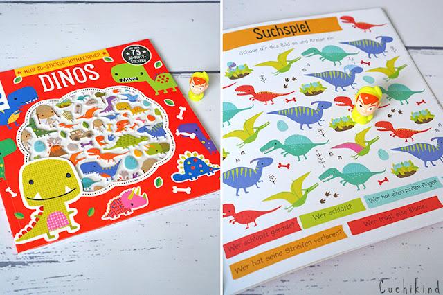 Bastelbuch Dinos