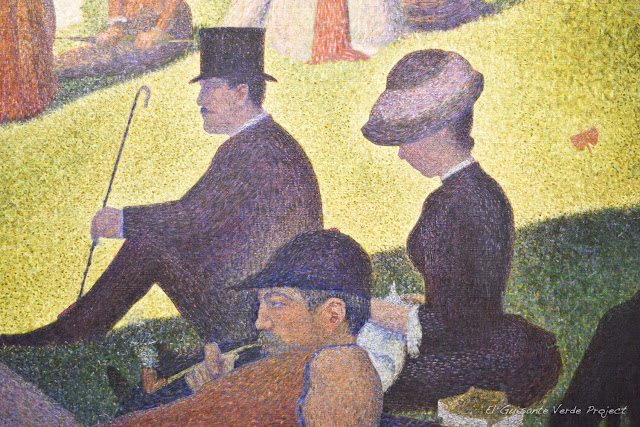 Seurat en el Art Institute de Chicago, por El Guisante Verde Project
