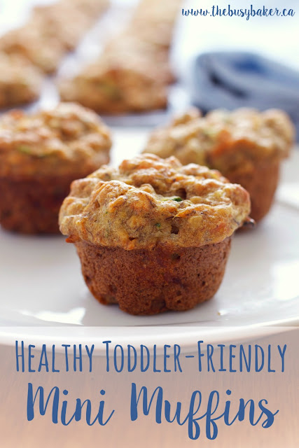 Healthy Toddler-Friendly Mini Muffins
