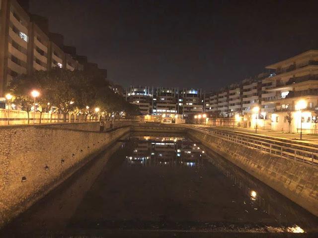 Parque das Nações à noite
