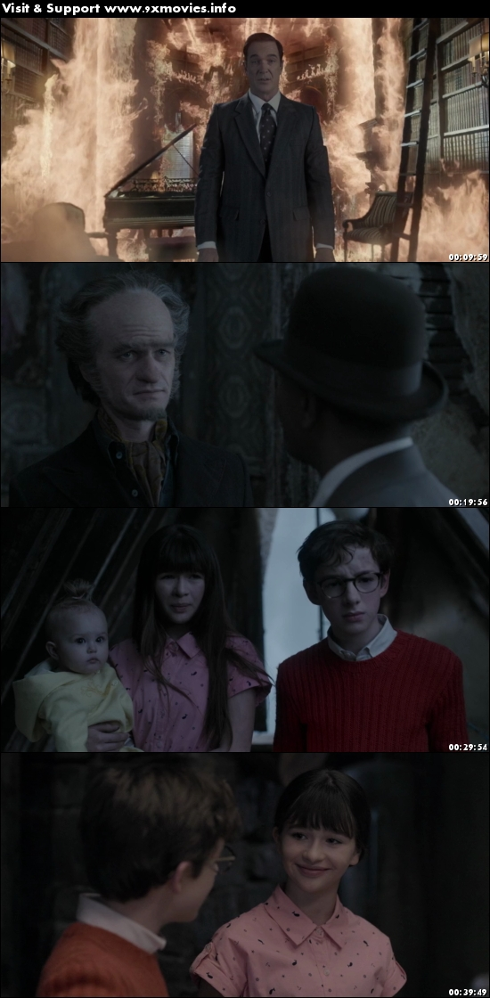 A Series Of Unfortunate Events S01E01 Dual Audio Hindi 720p WEBRip 400mb