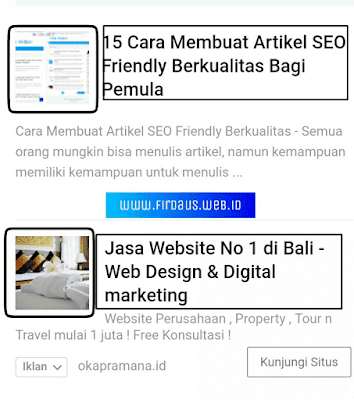 Cara Memasang Iklan In Feed Google Adsense