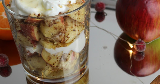 Apple Almond Dessert for the Holidays