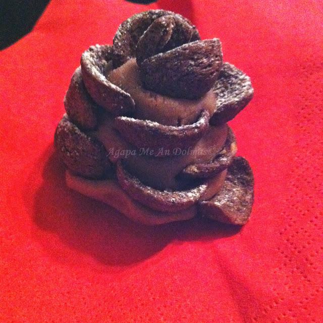 κουκουνάρια σοκολάτας
