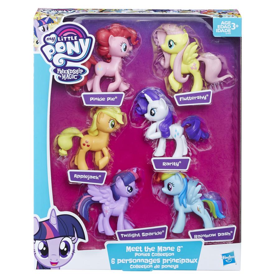 hasbro my little pony meet the ponies characters