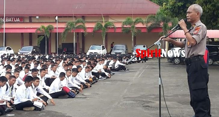 Kompol Fahruddin, Memberi Arahan 1.954 Orang Casis Bintara Yang Akan Test Psikologi