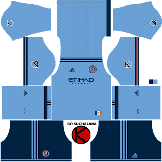 New York City FC Kits 2018 - Dream League Soccer