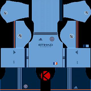 New York City FC Kits 2018 - Dream League Soccer