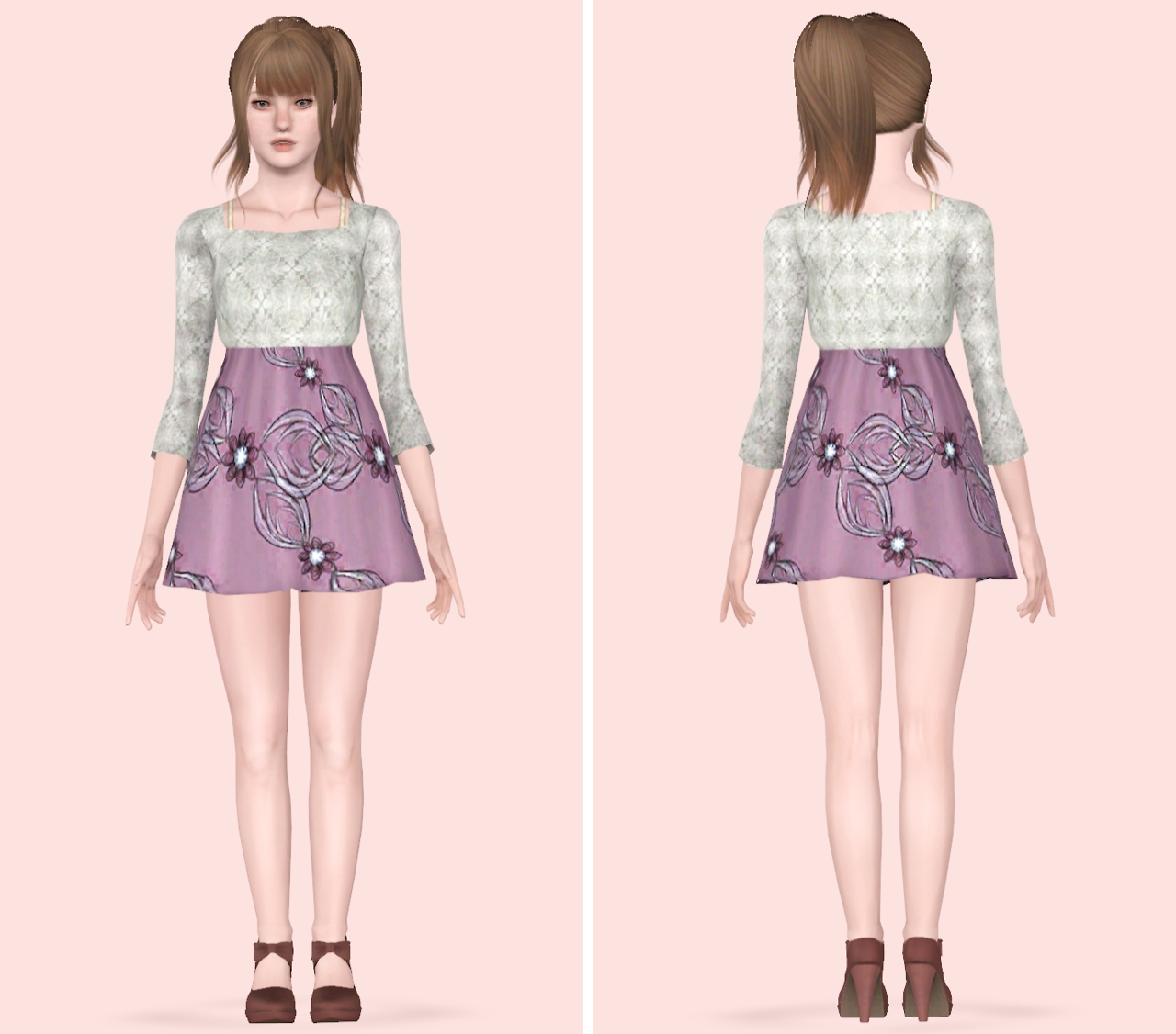 My Sims 3 Blog: Clothing Converted For Teen Females By