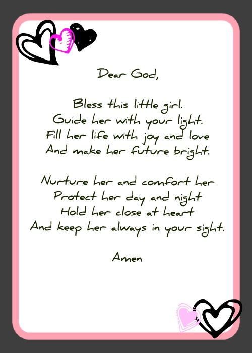 unborn baby girl poems - photo #29