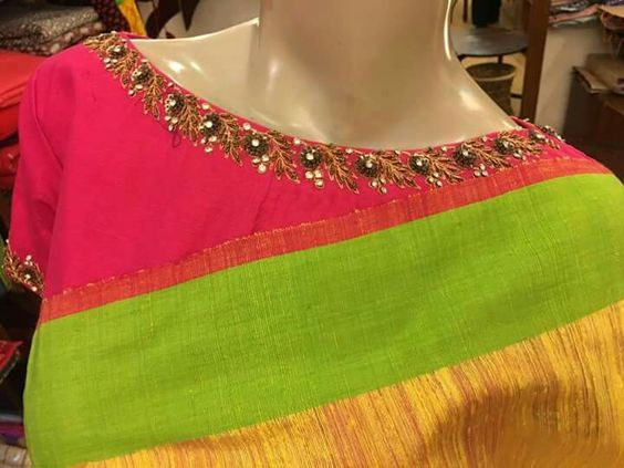 Top 10 Silk Saree Blouse Designs For This Diwali Candy Crow Top