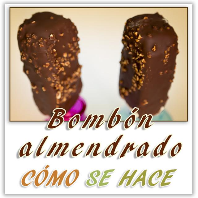 HELADO BOMBÓN ALMENDRADO