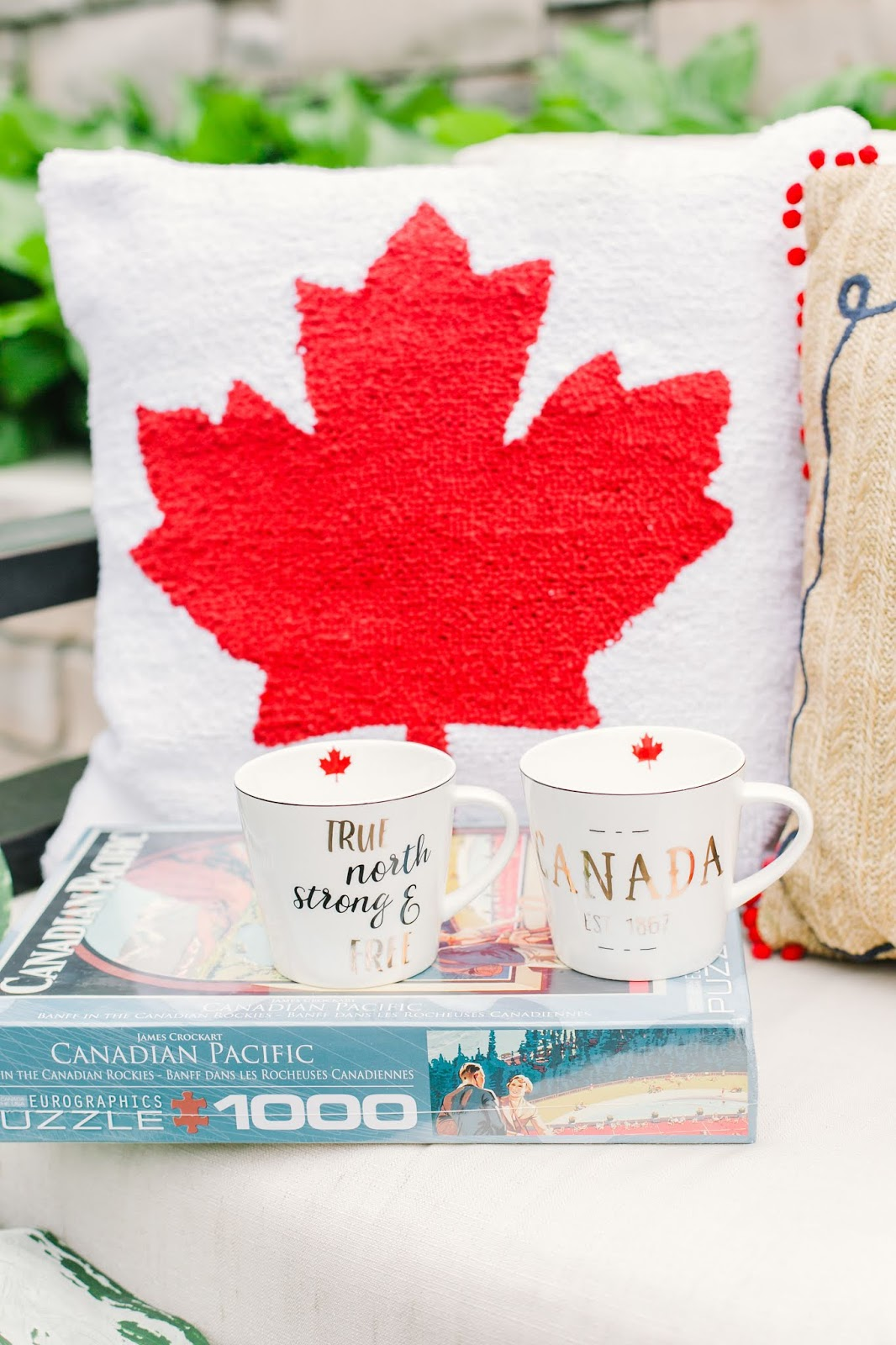 Bijuleni - How to Throw a Stylish Canada Day Summer Party