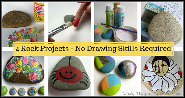 Easy Painted Rock Projects