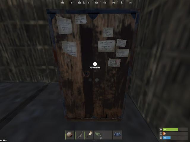 Rust Alet Dolabi