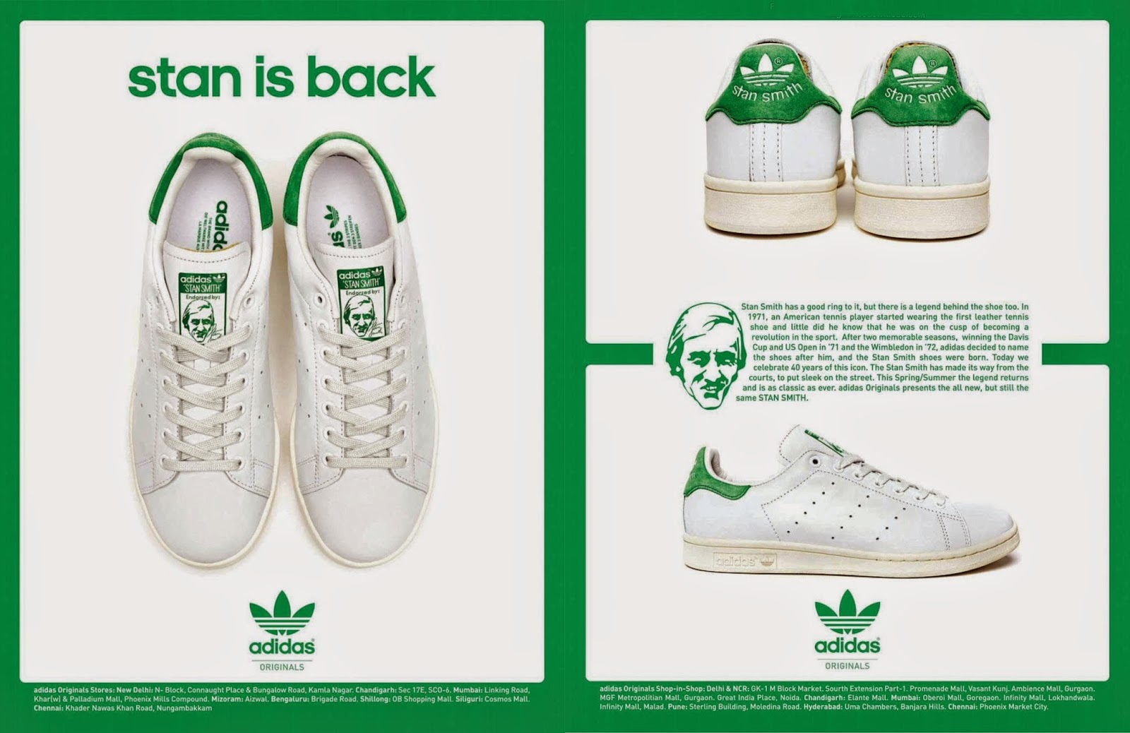 The Essentialist Fashion Advertising Updated Daily Adidas Stan Smith Advertising Campaign Spring Summer 2014