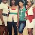 Major throwback photo of Ini Edo, Genevieve Nnaji, Rita Dominic and Uche Jumbo