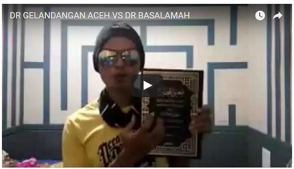 Heboh!!! DR Gelandangan Aceh VS DR Khalid Basalamah, Skak Mat,,,Bantu Sebarkan Biar Semua Saksikan