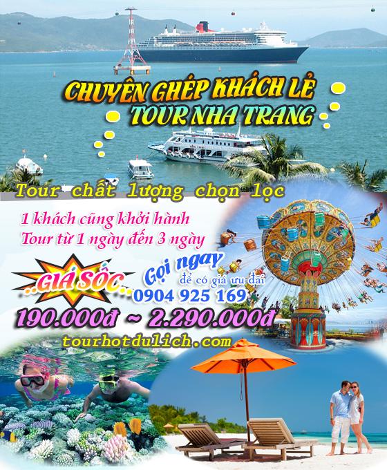Tour đoàn du lịch Nha Trang Vinperal đảo khỉ suối hoa lan tắm bùn