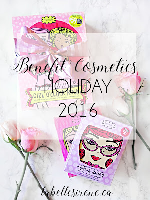 Pretty Girl Rock | It's A Girl Powered Holiday with Benefit Cosmetics Holiday 2016 Collection | Overview & Suggestions | labellesirene.ca