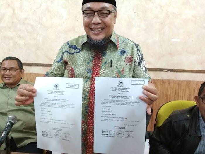 DPP Golkar Resmi Usung Arinal Djunaidi-Chusnunia Chalim.