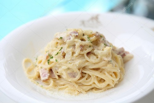Resep Spaghetti Carbonara Kraft
