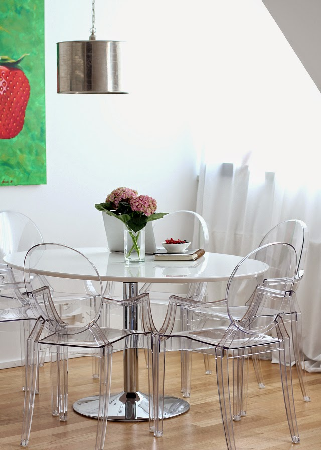 Acrylic Side Chair With Cushion Indoor Swing Uk Ghost Chairs Wholesale. Cheap Confer Dining Fabric In Gray ...