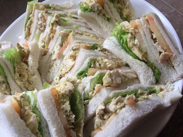 sandwich, resepi mudah sediakan sandwich, menu sarapan, menu minum petang