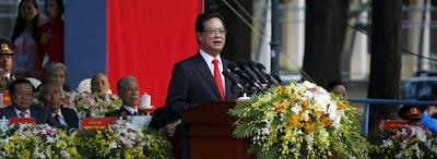 Nỗi cô đơn của đảng CSVN cùng sự khờ khạo của Thủ tướng Nguyễn Tấn Dũng trong ngày lễ kỷ niệm 30 - 4