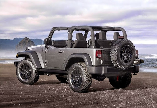 Jeep wrangler willys edition decals