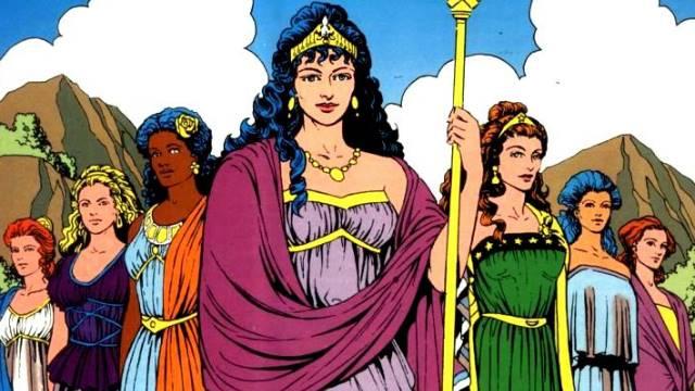 Mengenal Hippolyta, Ibu Wonder Woman Sekaligus Ratu Amazon