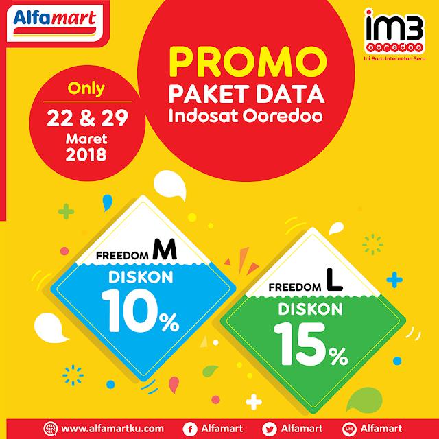 Promo Paket Data Indosat Ooredoo, hanya di tanggal 29 Maret 2018